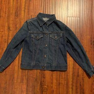 Vintage Levi's blue jean denim jacket